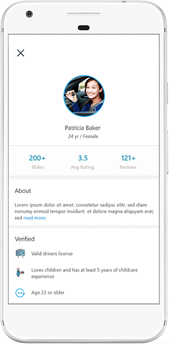 Fizbii - Mobile app